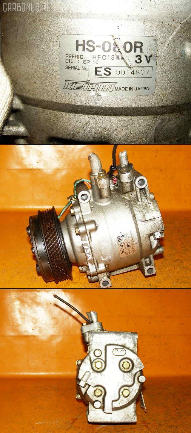 Компрессор кондиционера HONDA FIT GD1 L13A. Фото 1