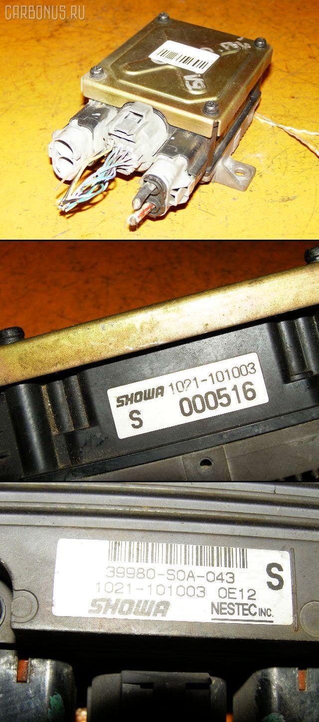 Блок управления электроусилителем руля HONDA ACCORD WAGON CF6 F23A. Фото 4
