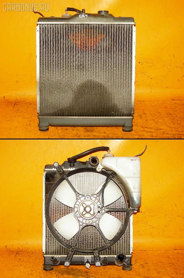 Радиатор ДВС HONDA CAPA GA4 D15B. Фото 6