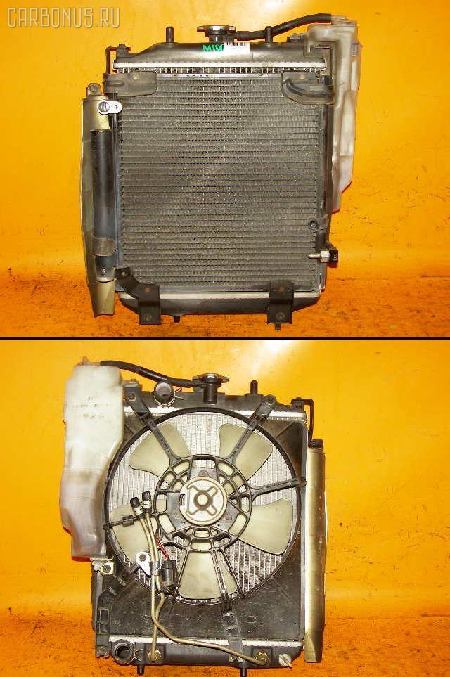 Радиатор ДВС TOYOTA DUET M100A EJ-DE. Фото 6