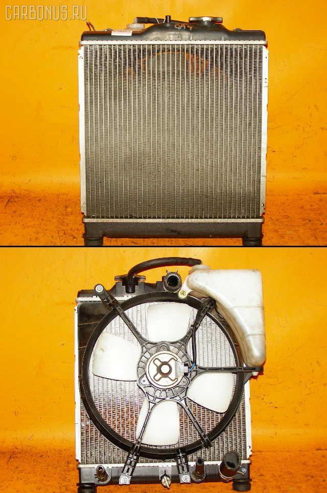 Радиатор ДВС HONDA CAPA GA4 D15B. Фото 7