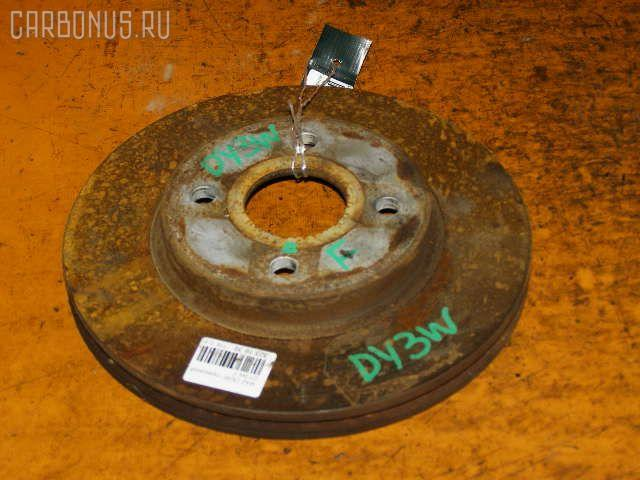 Тормозной диск MAZDA DEMIO DY3W. Фото 6