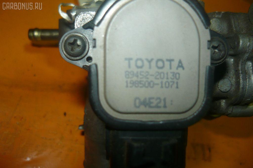 Дроссельная заслонка TOYOTA COROLLA RUNX NZE124 1NZ-FE. Фото 10