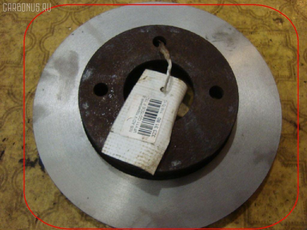 Тормозной диск NISSAN AD VAN VFY11 QG15DE. Фото 1
