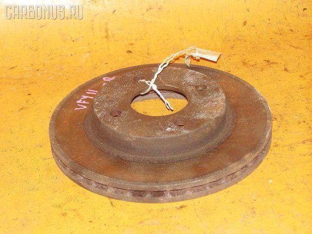 Тормозной диск NISSAN AD VAN VFY11 QG15DE. Фото 2