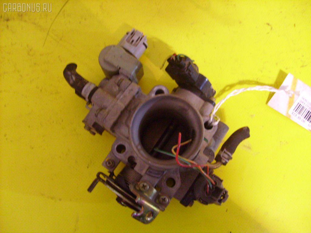 Дроссельная заслонка HONDA LOGO GA3 D13B. Фото 1