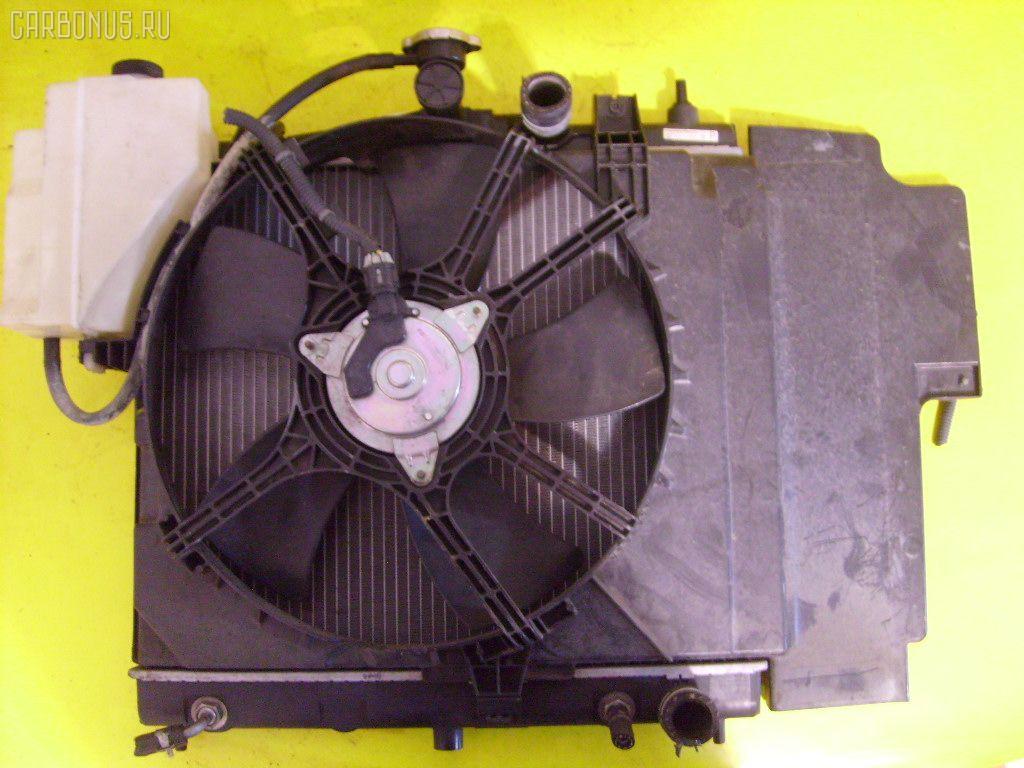 Радиатор ДВС NISSAN NOTE E11 HR15DE. Фото 5