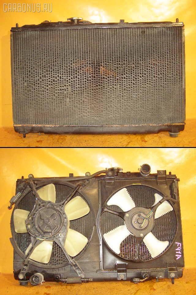 Радиатор ДВС MITSUBISHI DIAMANTE F41A 6G73. Фото 1