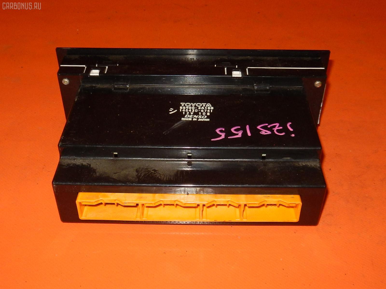 Блок управления климатконтроля TOYOTA CROWN JZS155 2JZ-GE. Фото 10