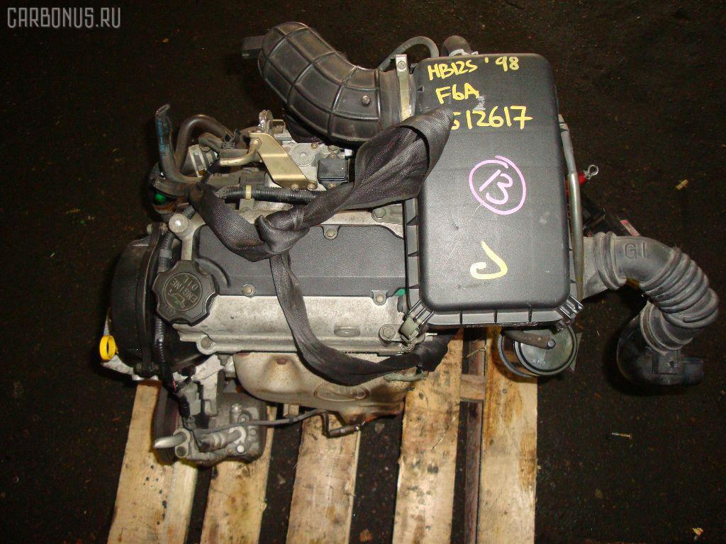 Двигатель MAZDA CAROL HB12S F6A Фото 11