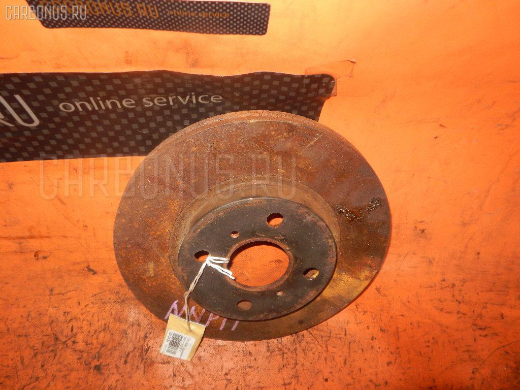 Тормозной диск TOYOTA PORTE NNP11. Фото 7