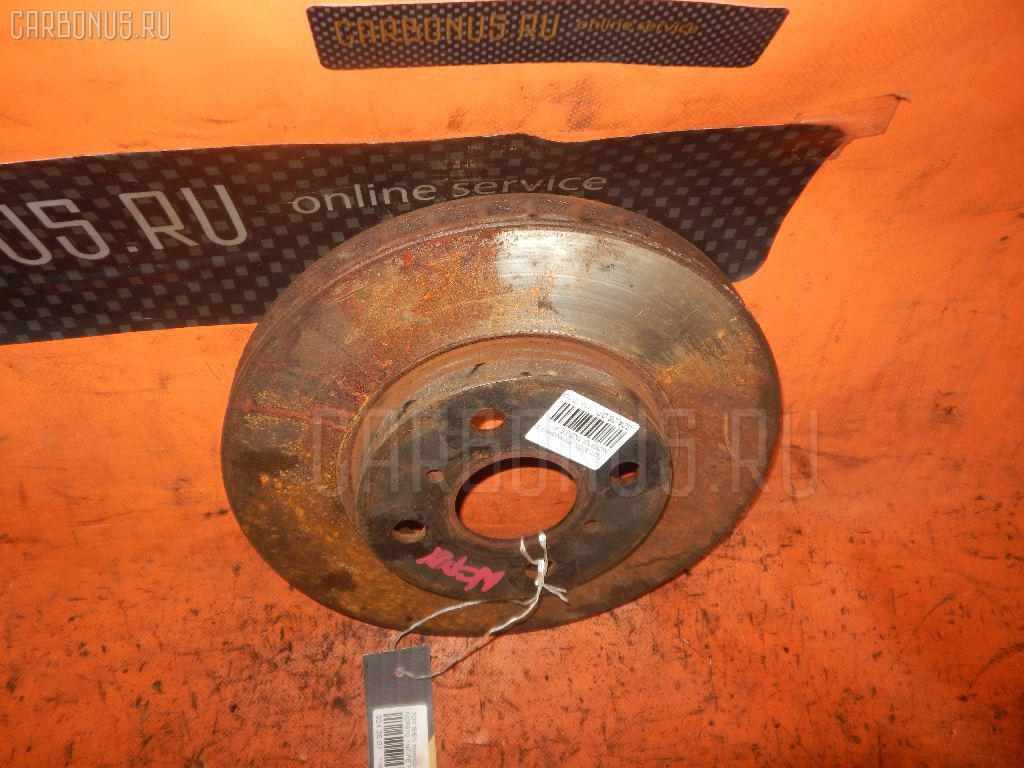 Тормозной диск TOYOTA SIENTA NCP81G 1NZ-FE. Фото 1
