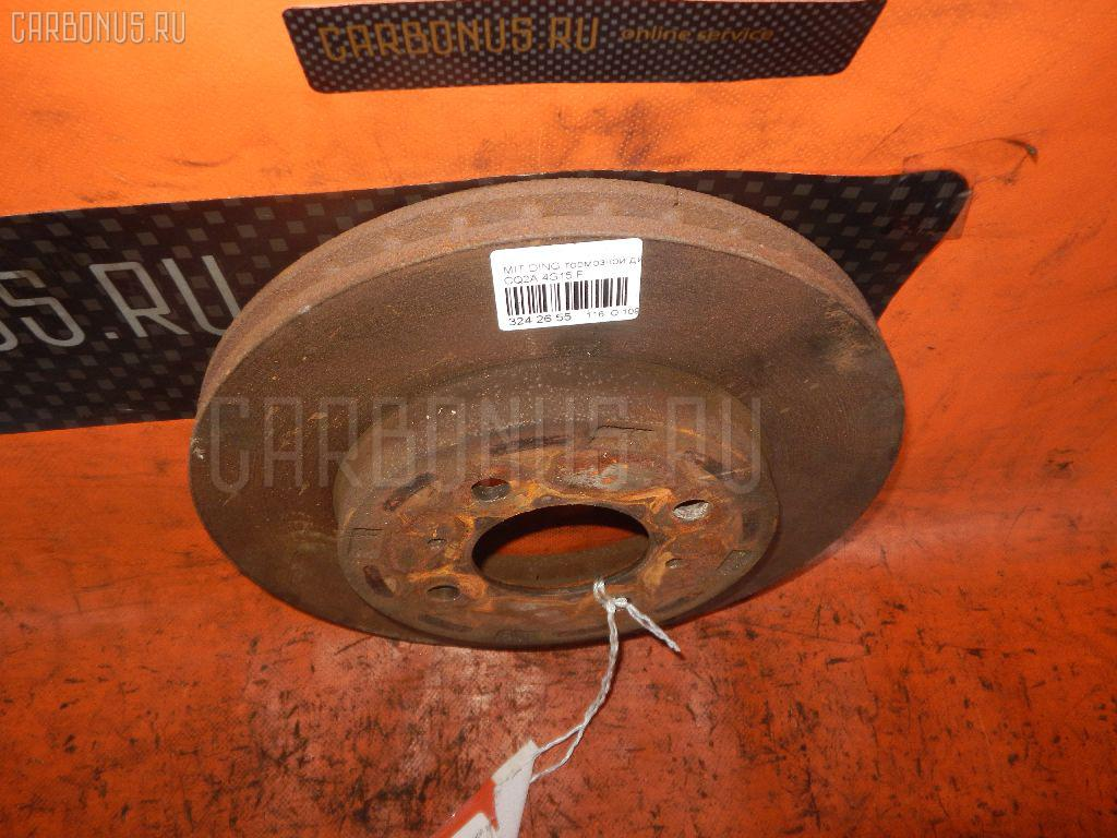 Тормозной диск MITSUBISHI MIRAGE DINGO CQ2A 4G15 Фото 1