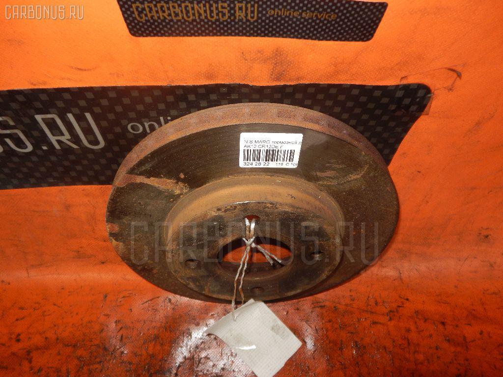 Тормозной диск NISSAN TIIDA LATIO SC11 HR15DE. Фото 1