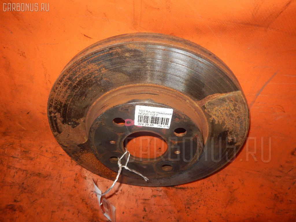 Тормозной диск TOYOTA PORTE NNP11. Фото 9