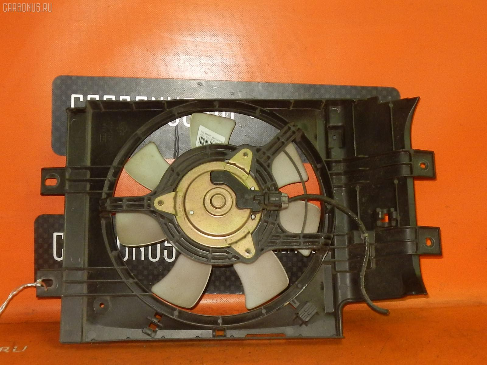 Вентилятор радиатора кондиционера NISSAN MARCH AK11 CGA3DE. Фото 2