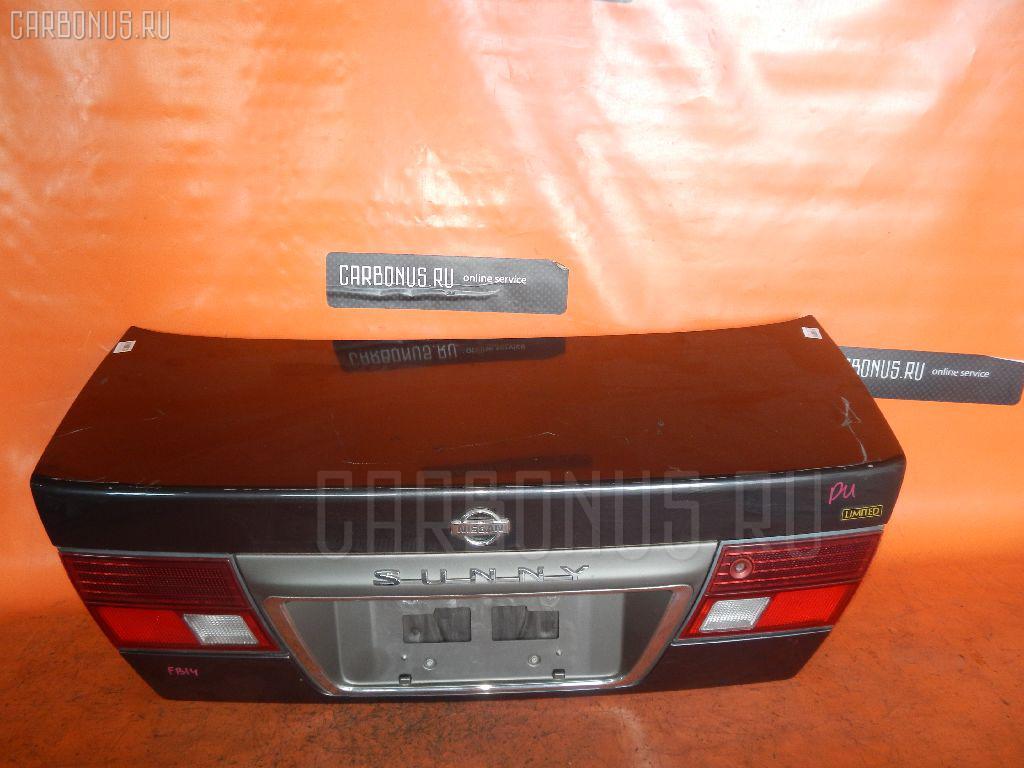 Крышка багажника NISSAN SUNNY FB14. Фото 9