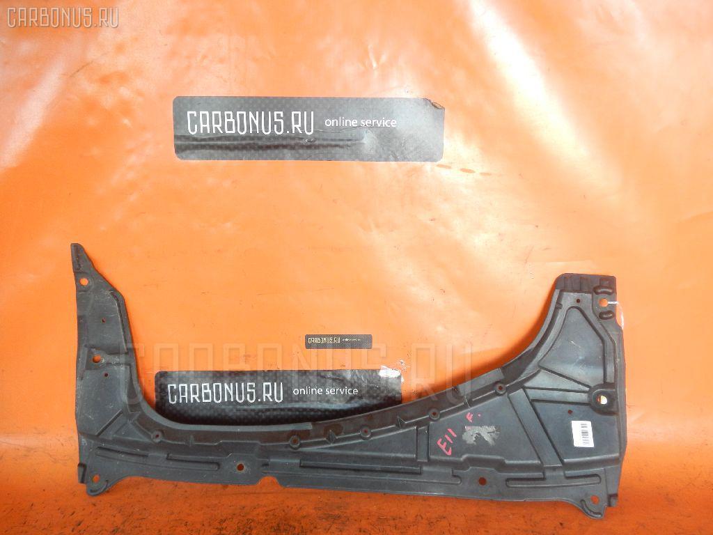 Защита двигателя NISSAN NOTE E11 HR15DE. Фото 3