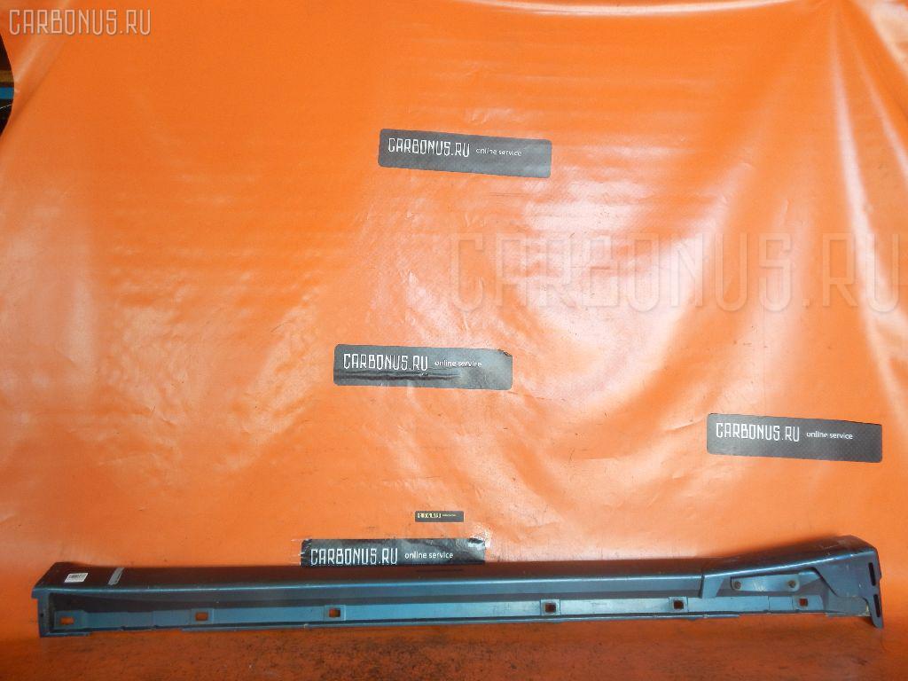 Порог кузова пластиковый ( обвес ) SUBARU LEGACY B4 BE5. Фото 4