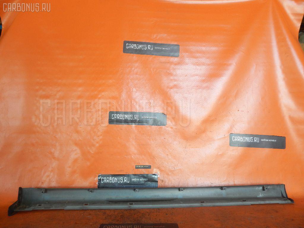 Порог кузова пластиковый ( обвес ) SUBARU LEGACY B4 BE5. Фото 5