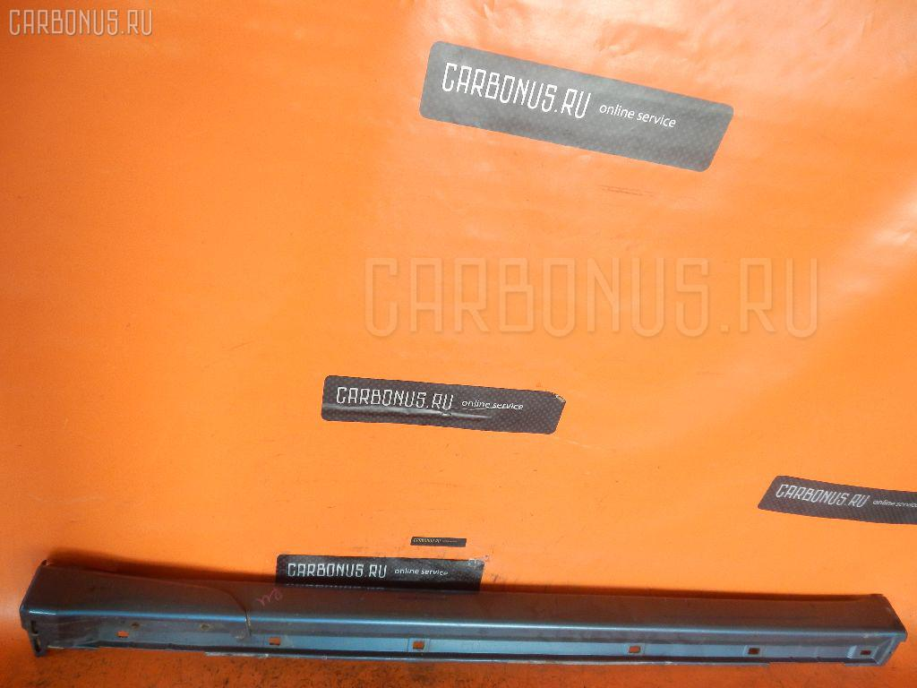 Порог кузова пластиковый ( обвес ) SUBARU LEGACY B4 BE5. Фото 6