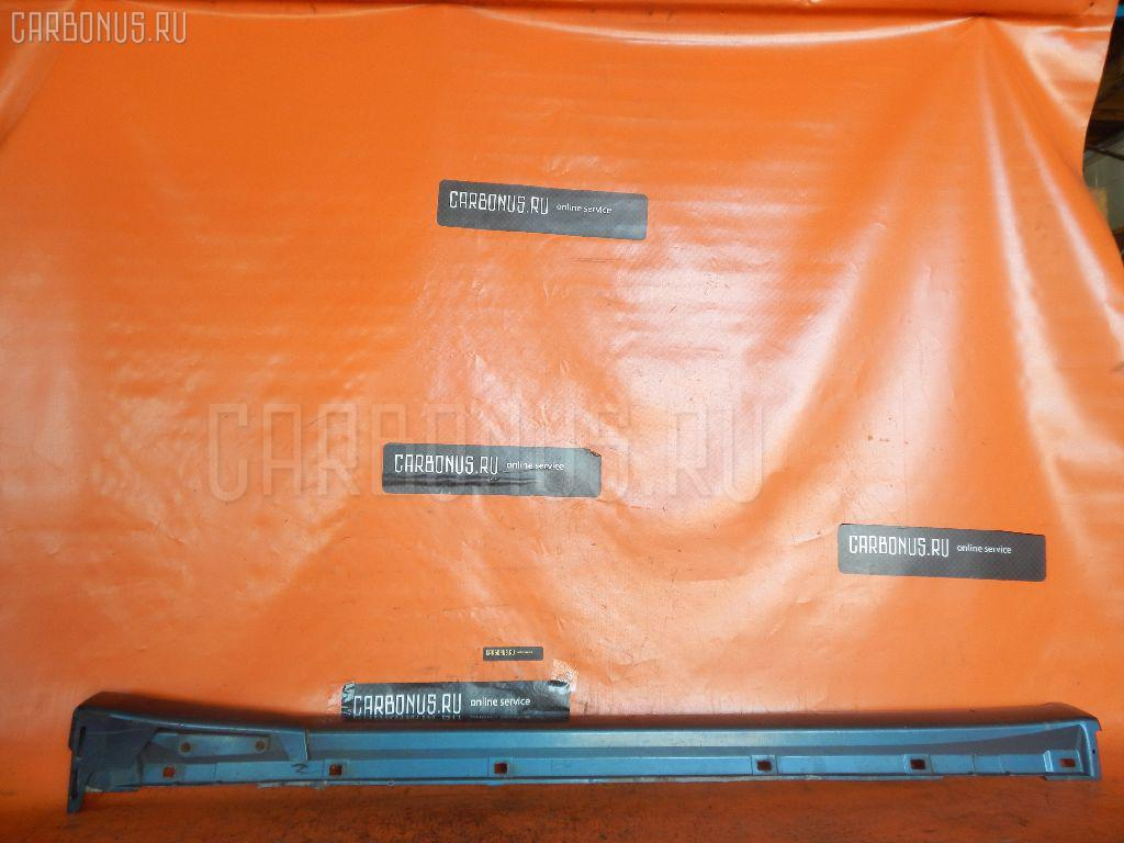 Порог кузова пластиковый ( обвес ) SUBARU LEGACY B4 BE5. Фото 7