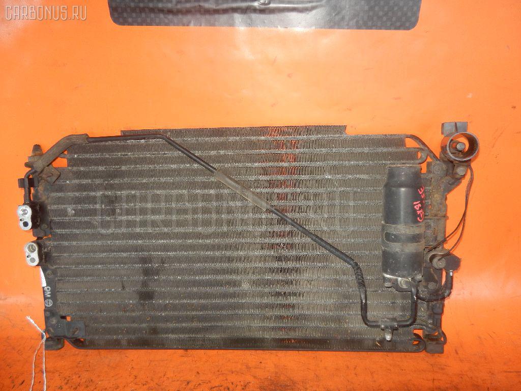 Радиатор кондиционера TOYOTA MARK II GX81 1G-FE. Фото 5