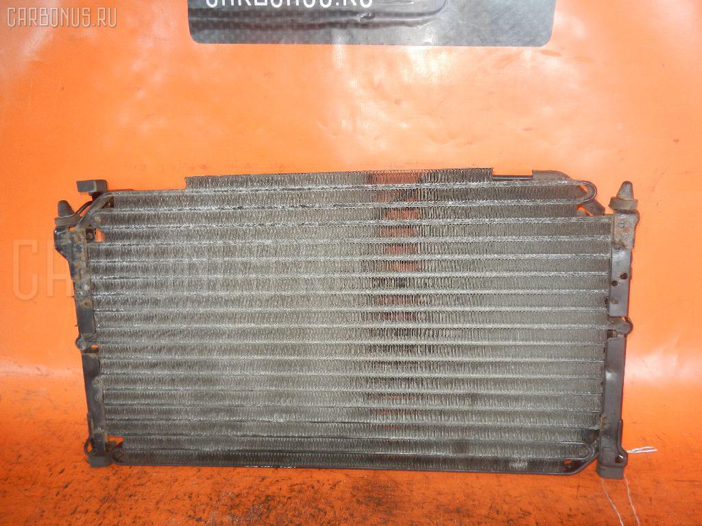 Радиатор кондиционера TOYOTA MARK II GX81 1G-FE. Фото 6