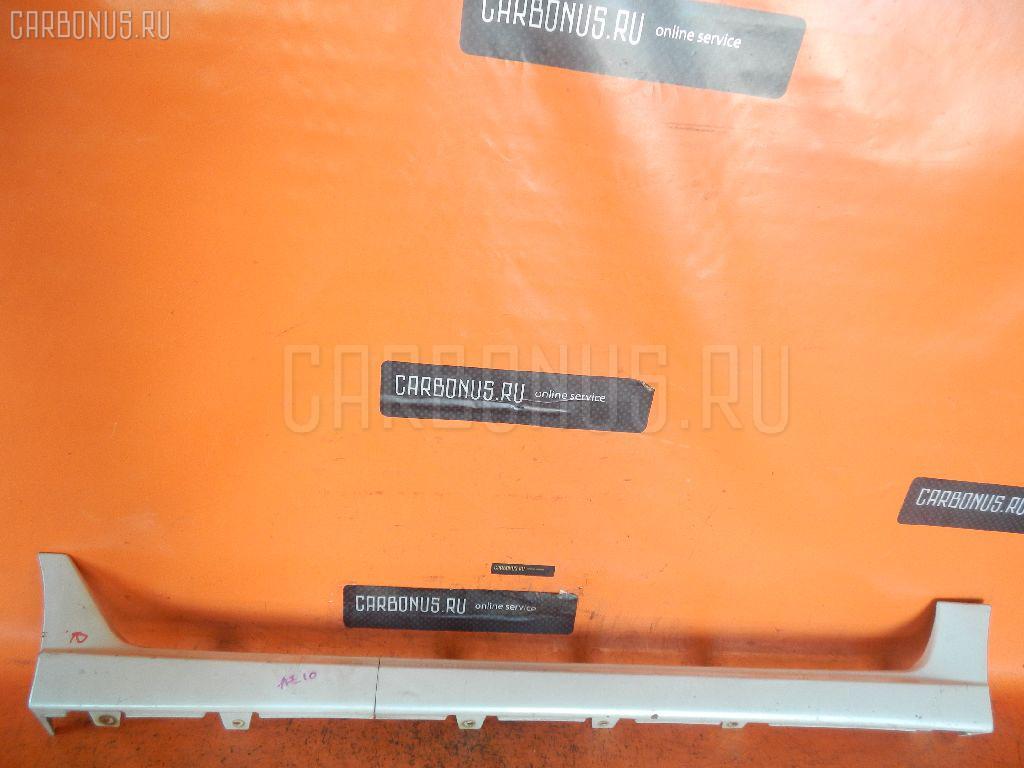 Порог кузова пластиковый ( обвес ) NISSAN CUBE Z10. Фото 5
