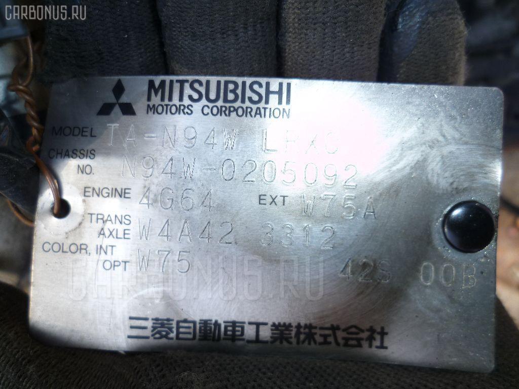 Двигатель MITSUBISHI CHARIOT GRANDIS N94W 4G64. Фото 1