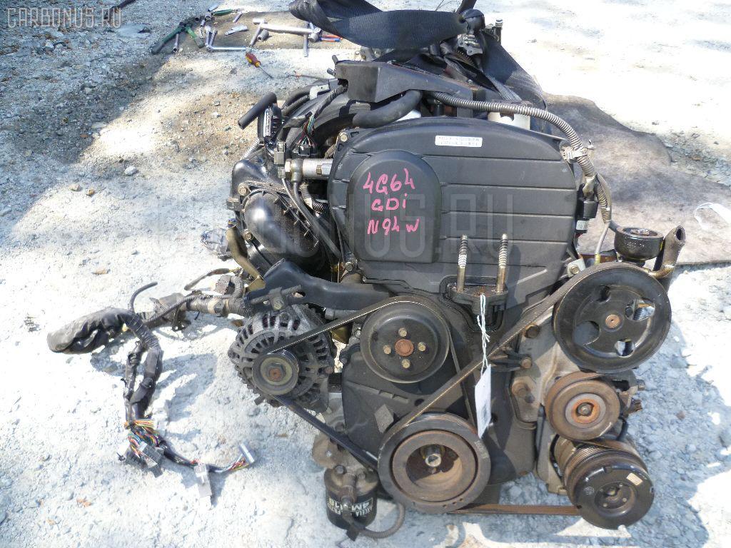 Двигатель MITSUBISHI CHARIOT GRANDIS N94W 4G64. Фото 6