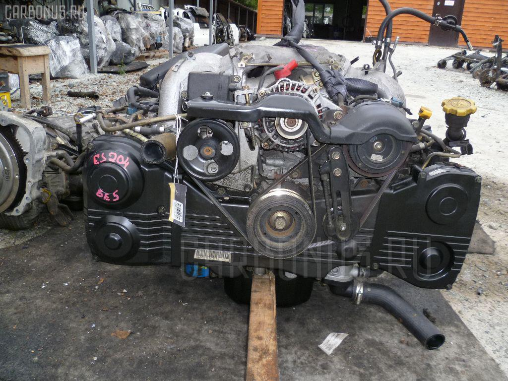 Двигатель SUBARU LEGACY B4 BE5 EJ204. Фото 6
