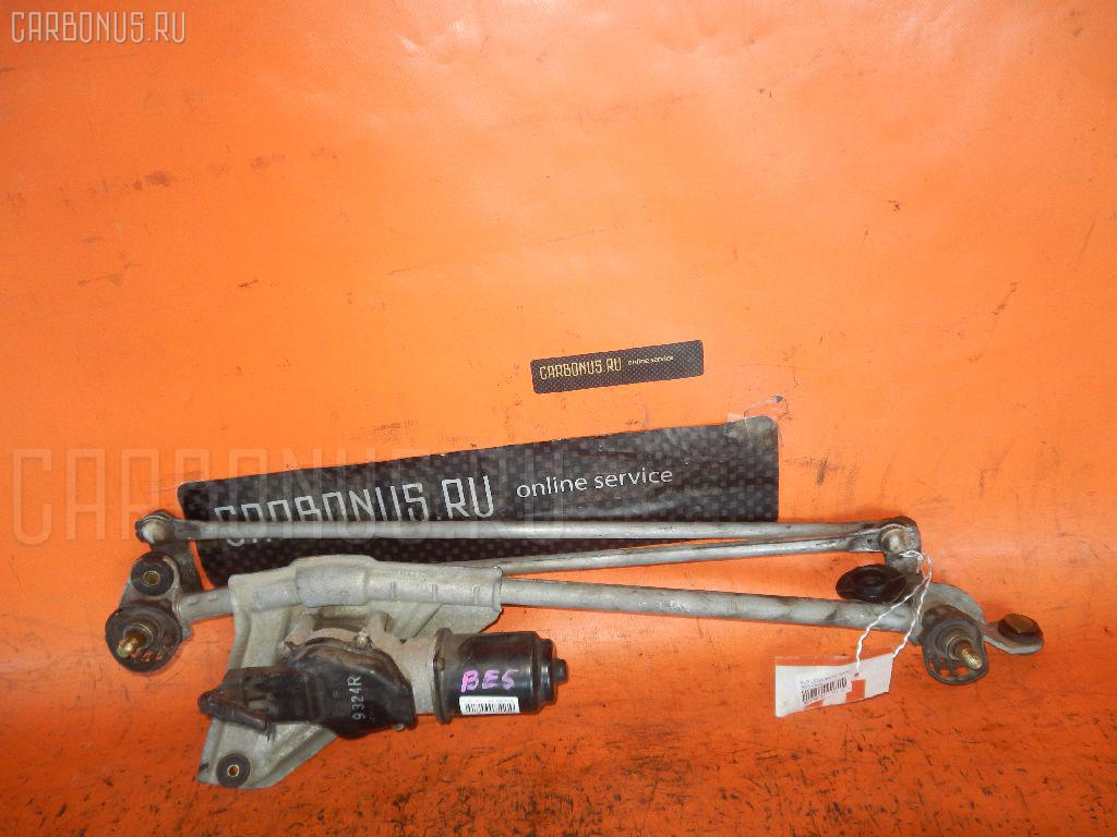 Мотор привода дворников SUBARU LEGACY B4 BE5. Фото 3