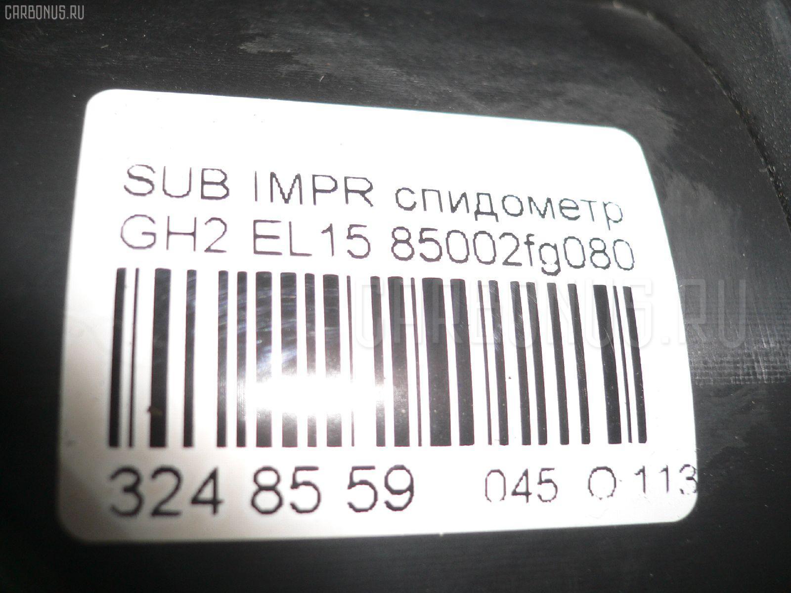 Спидометр SUBARU IMPREZA GH2 EL15 Фото 4