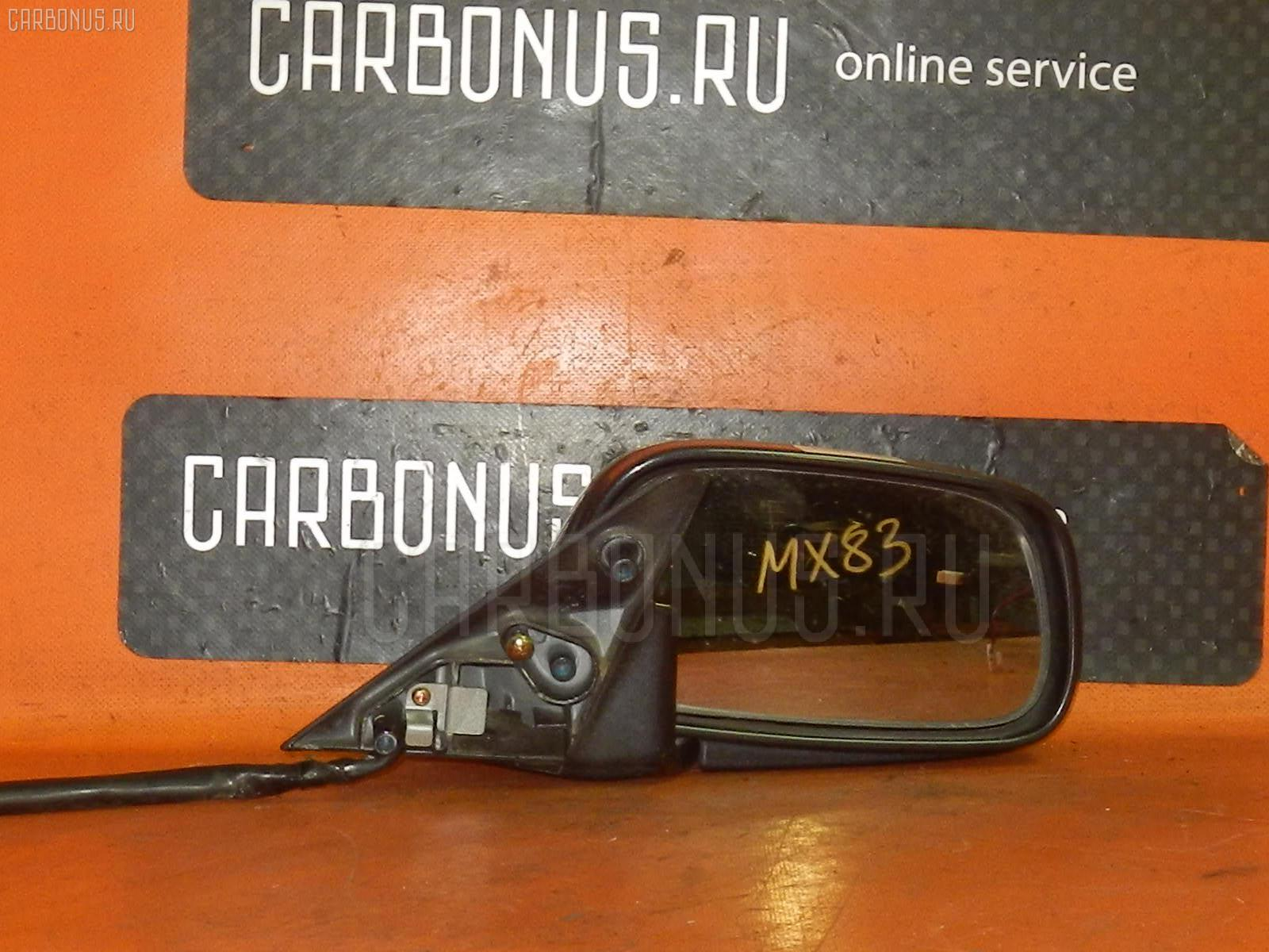 Зеркало двери боковой TOYOTA MARK II MX83. Фото 1