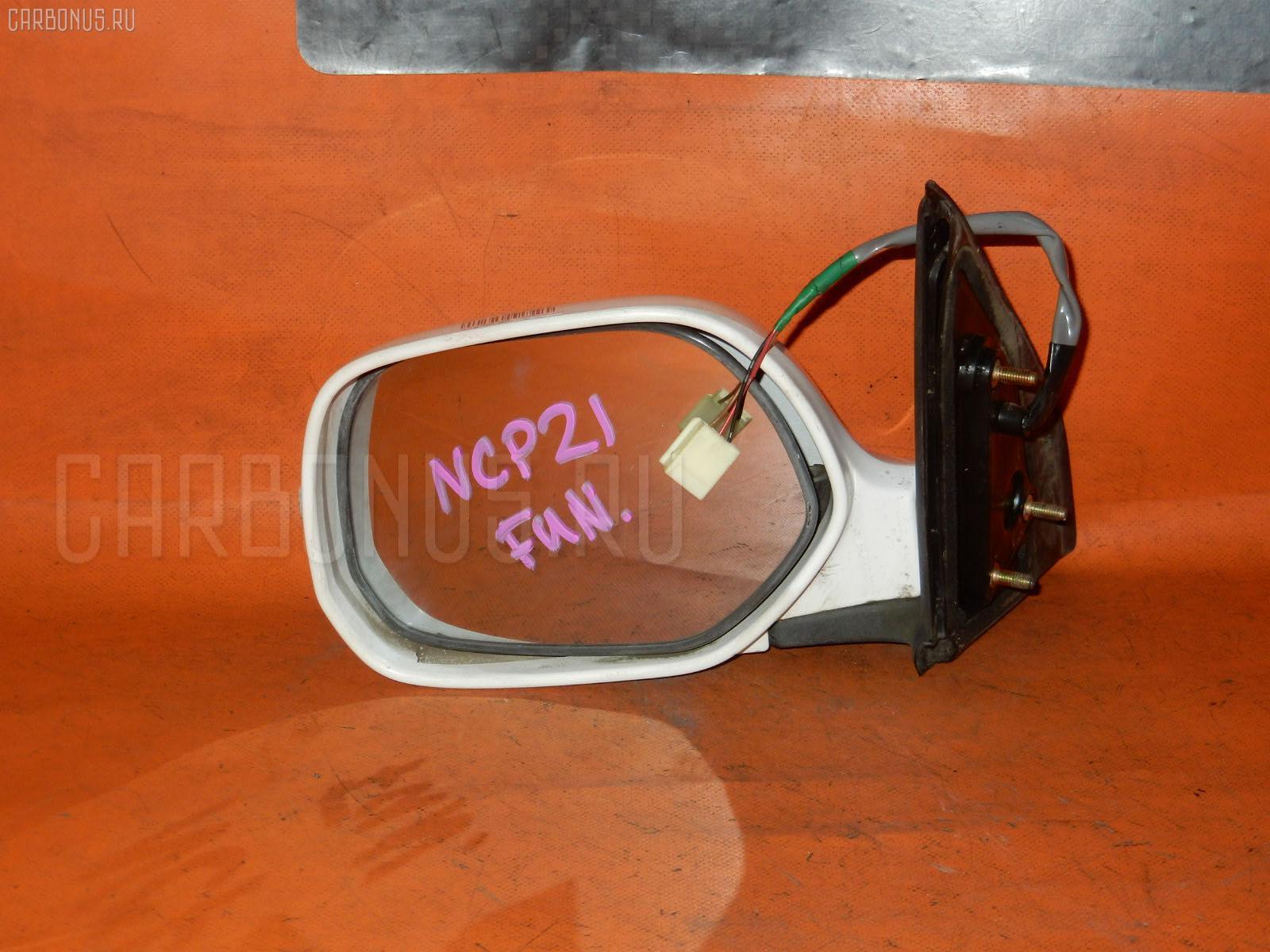 Зеркало двери боковой TOYOTA FUNCARGO NCP21. Фото 8