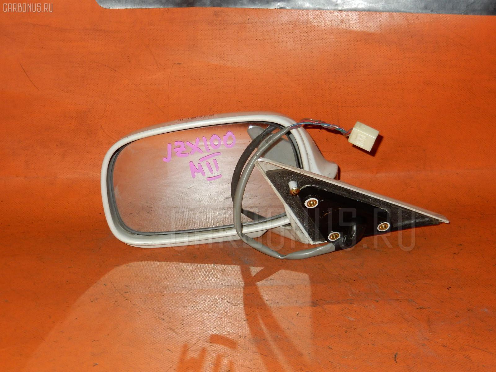 Зеркало двери боковой TOYOTA MARK II JZX100 Фото 2
