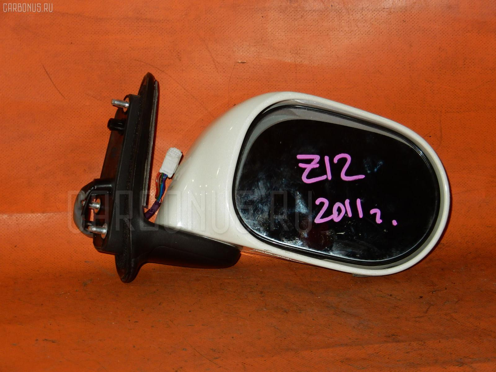 Зеркало двери боковой NISSAN CUBE Z12. Фото 1
