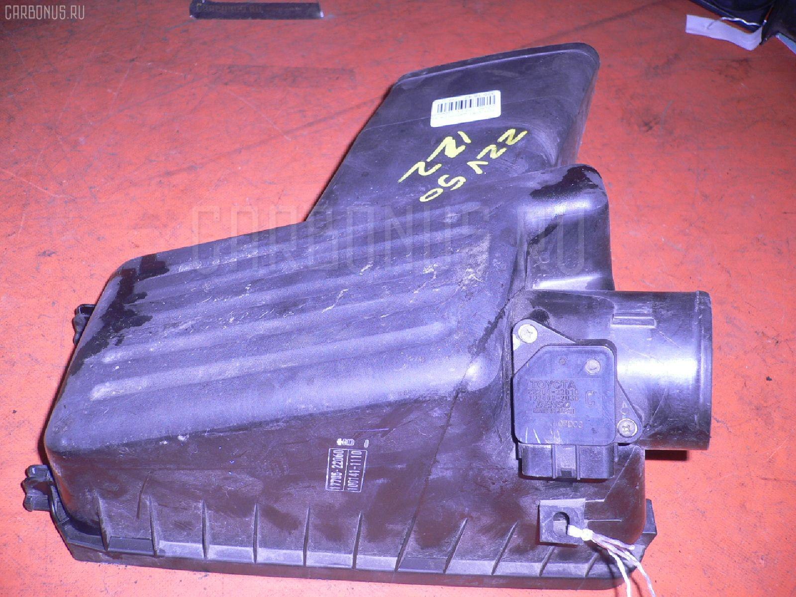 Датчик расхода воздуха TOYOTA VISTA ZZV50 1ZZ-FE. Фото 9