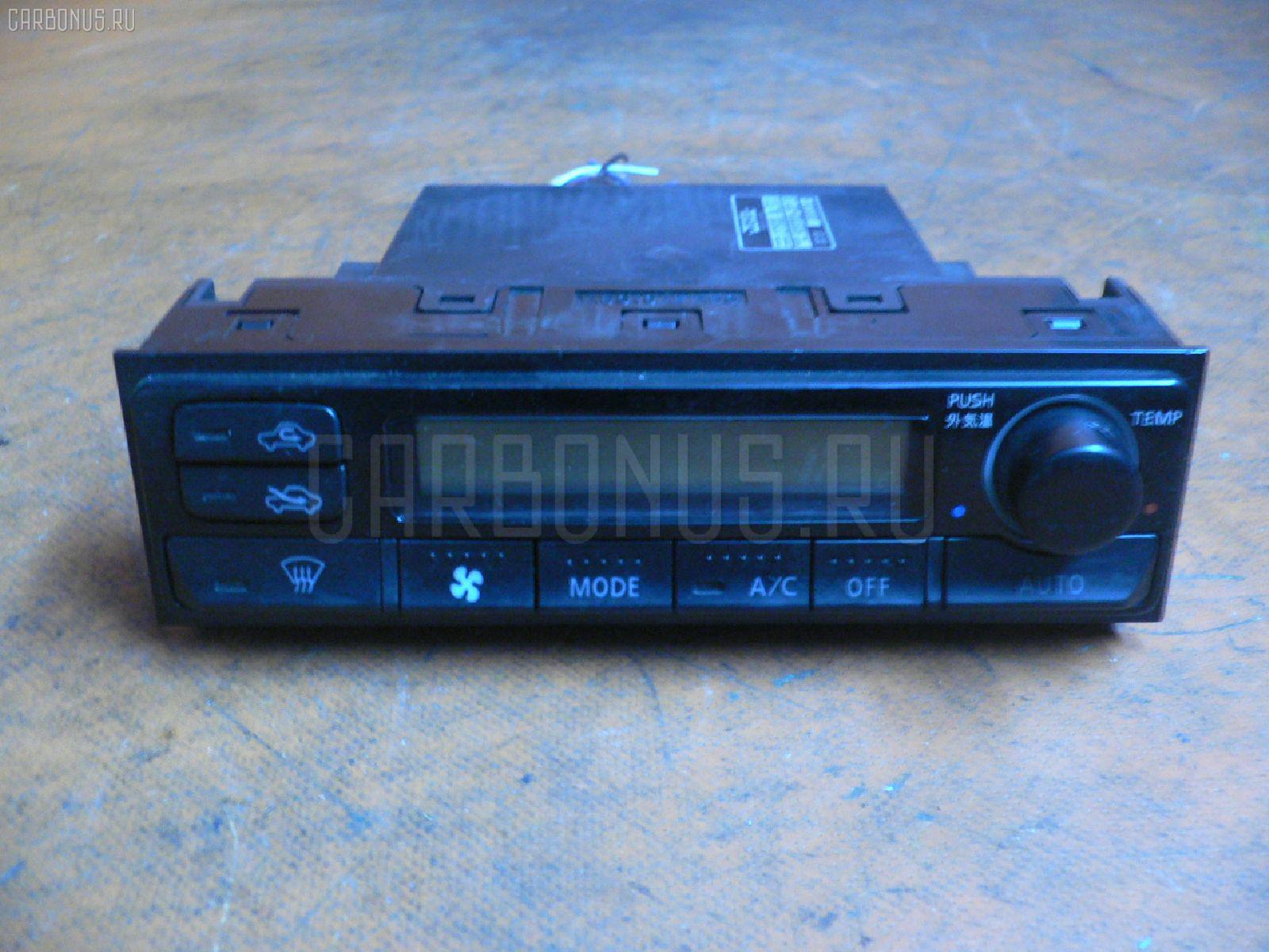 Блок управления климатконтроля NISSAN LAUREL HC35 RB20DE. Фото 1
