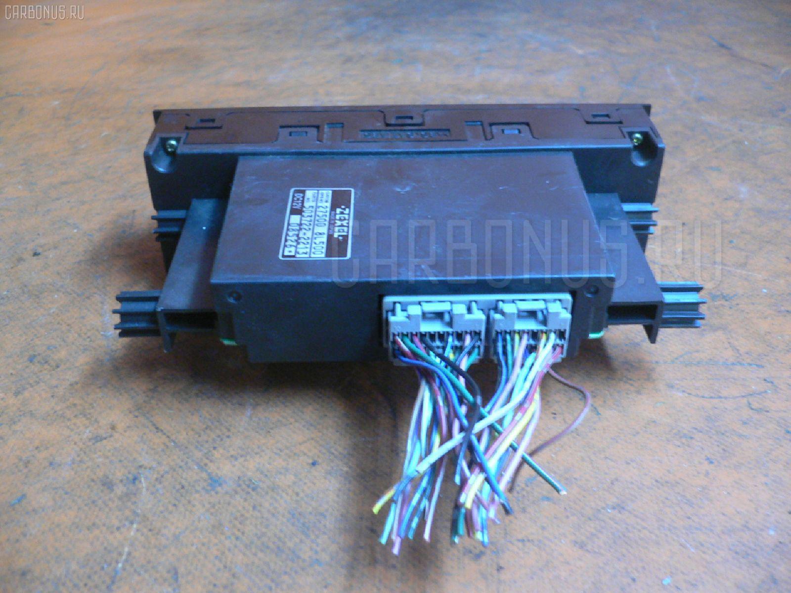 Блок управления климатконтроля NISSAN LAUREL HC35 RB20DE. Фото 2
