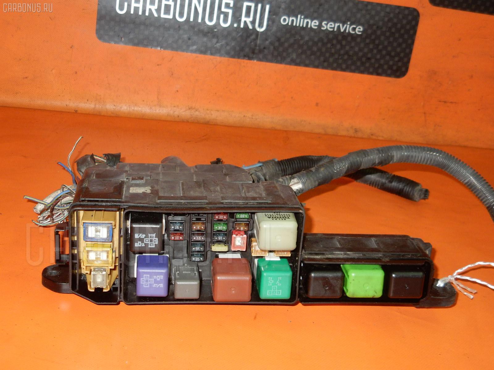 Блок предохранителей TOYOTA CALDINA ST195G 3S-FE. Фото 1
