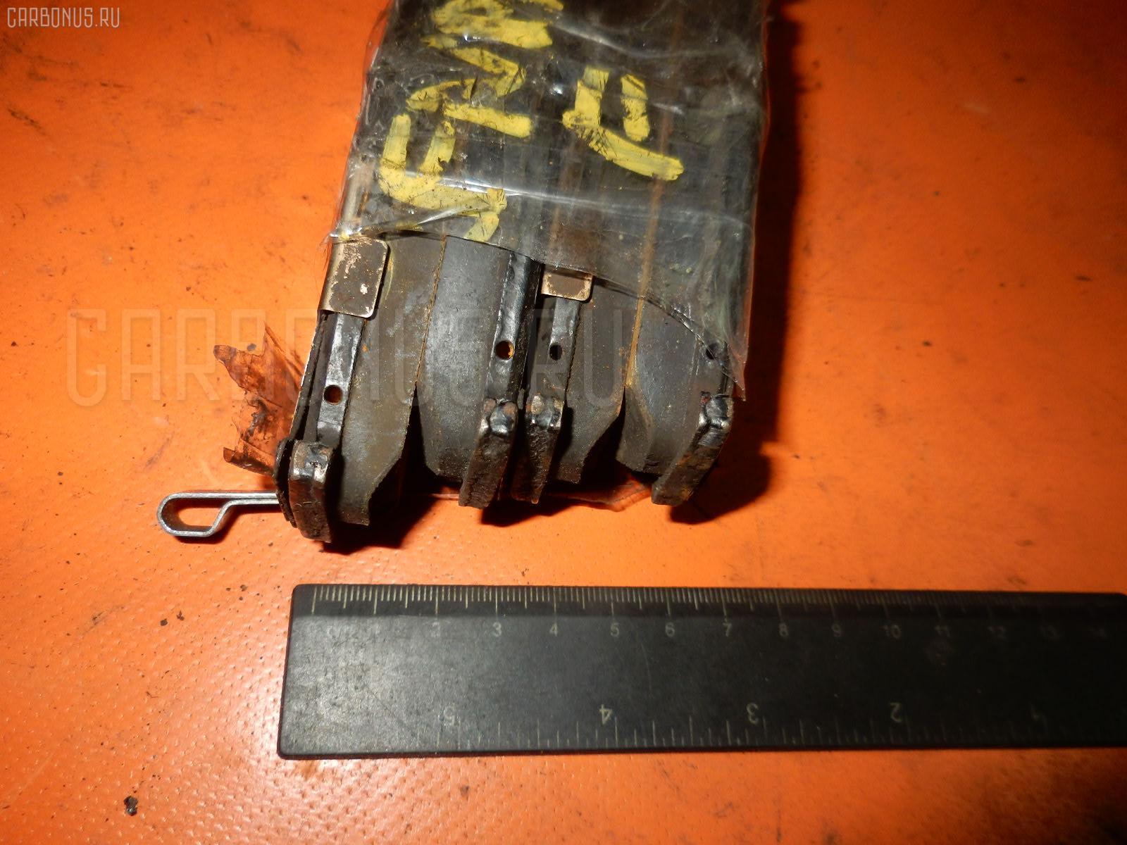 Тормозные колодки NISSAN RASHEEN RFNB14 GA15DE Фото 2