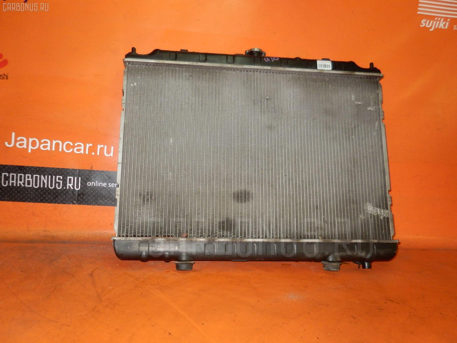 Радиатор ДВС NISSAN PRESAGE U30 KA24DE Фото 2