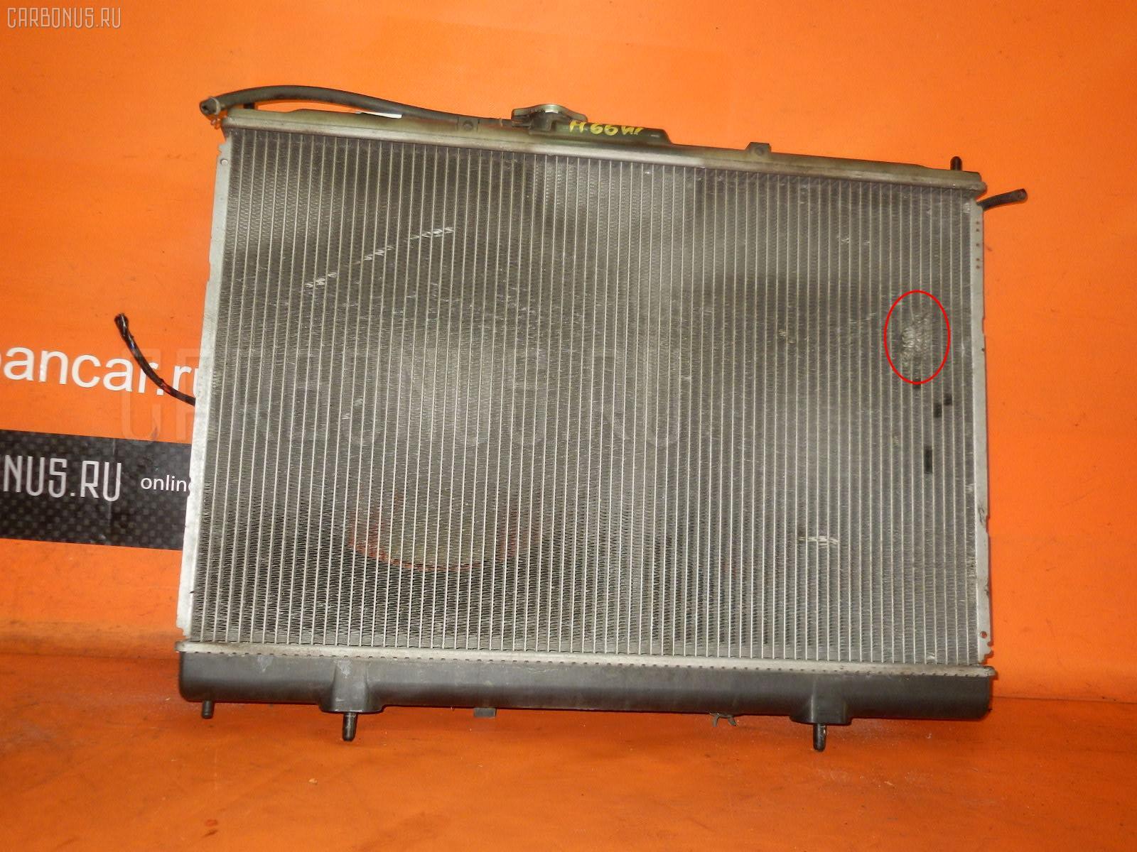 Радиатор ДВС MITSUBISHI PAJERO IO H66W 4G93. Фото 6