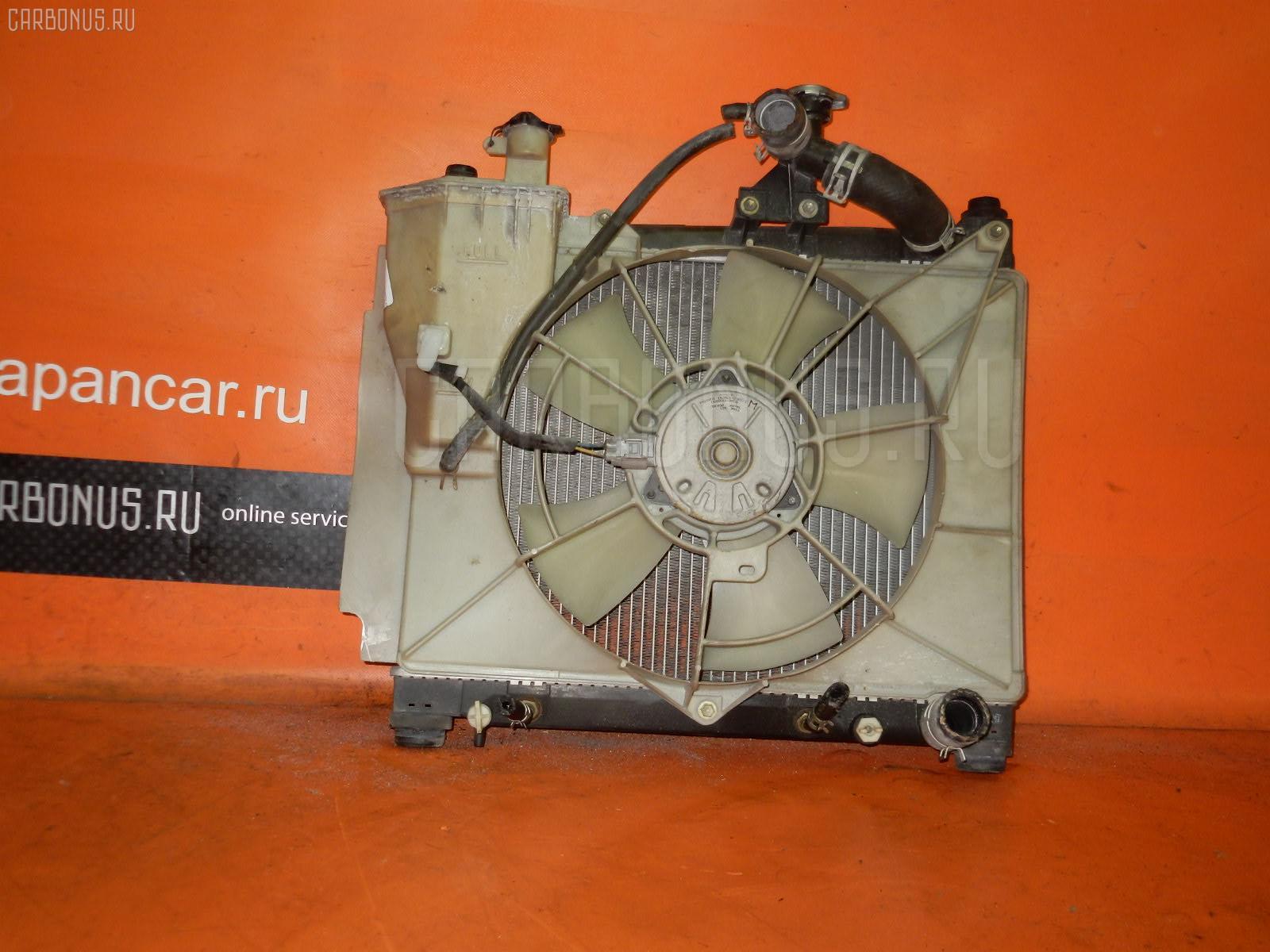 Радиатор ДВС TOYOTA FUNCARGO NCP20 2NZ-FE. Фото 2