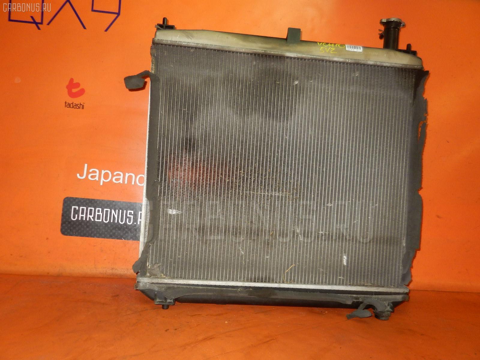 Радиатор ДВС TOYOTA GRAND HIACE VCH10W 5VZ-FE. Фото 4