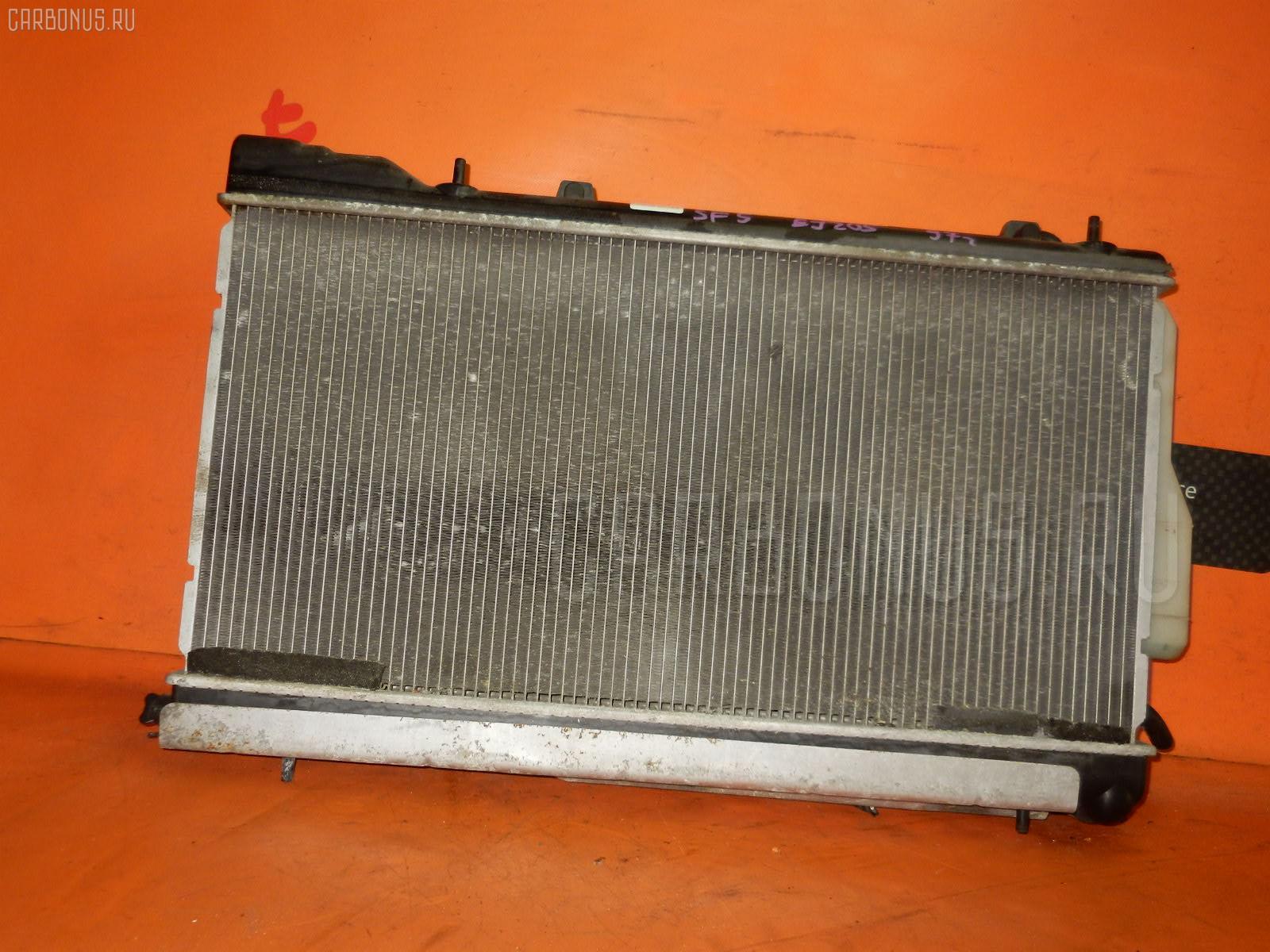 Радиатор ДВС SUBARU FORESTER SF5 EJ205. Фото 5
