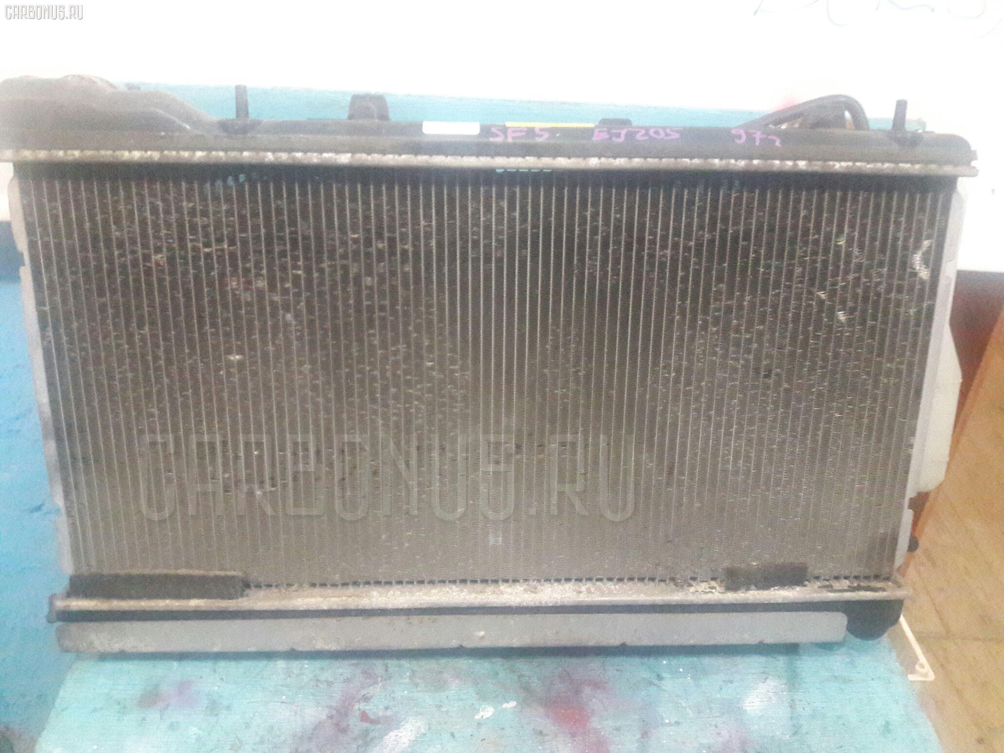 Радиатор ДВС SUBARU FORESTER SF5 EJ205. Фото 4