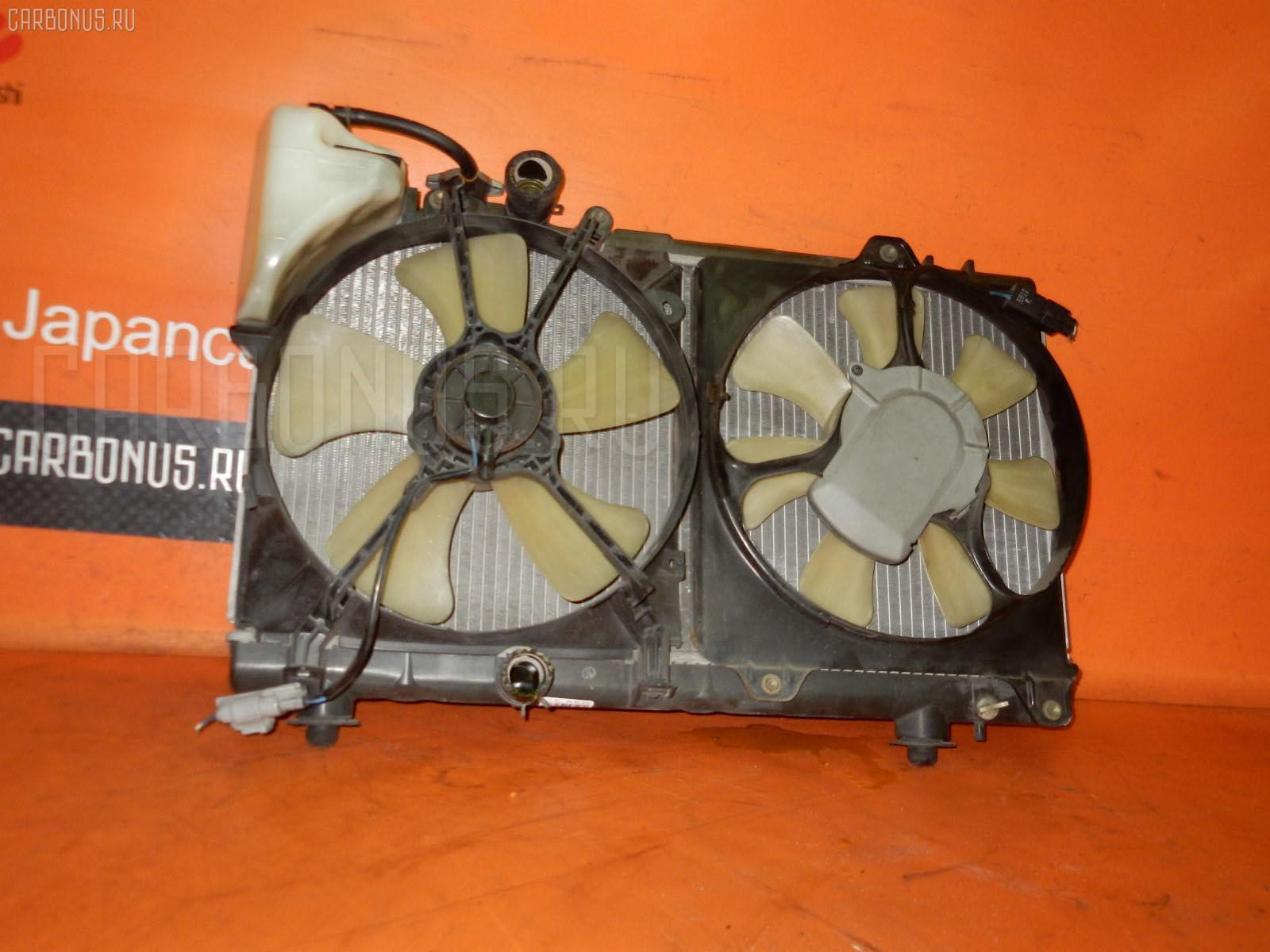 Радиатор ДВС TOYOTA CYNOS EL54 5E-FHE. Фото 3